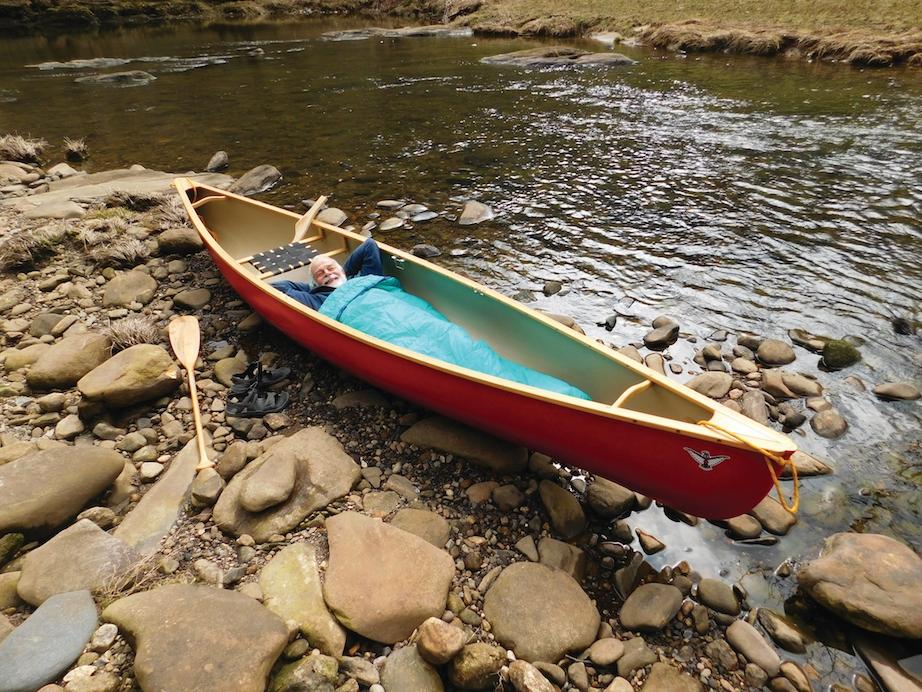 How To Sleep In Your Canoe