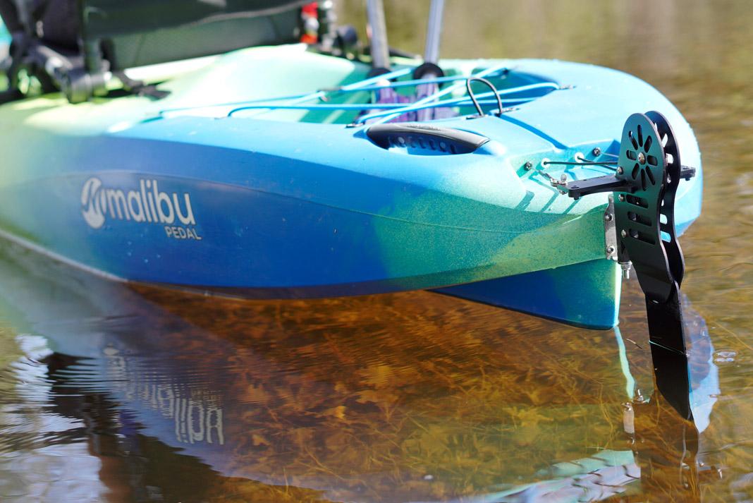 rudder of Malibu ocean kayak