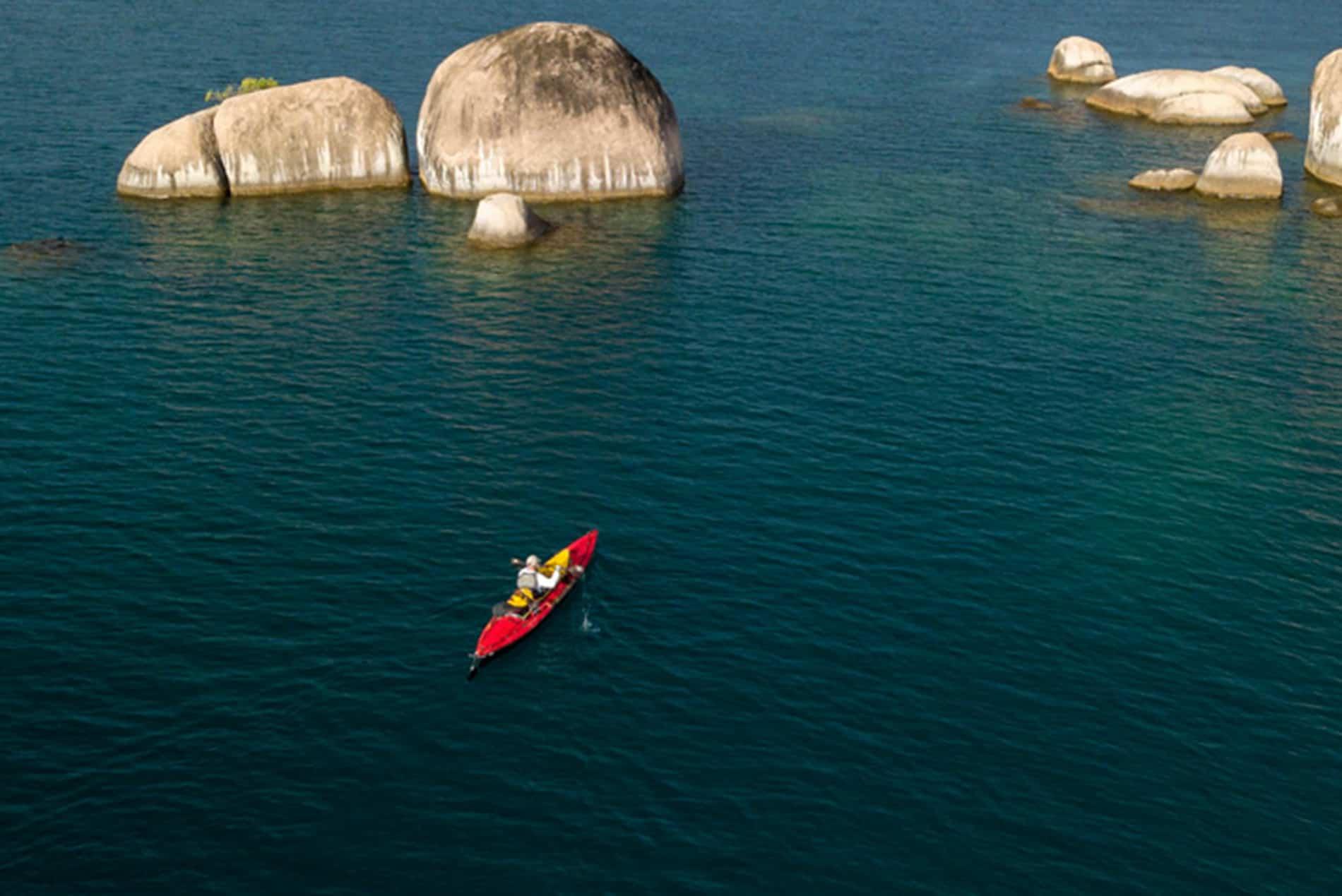 Ross Exler Paddles Africa's Great Lakes