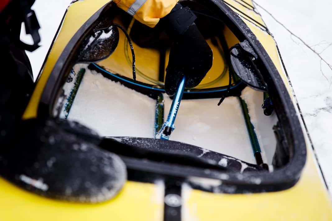 Trak Kayaks 2.0 Touring Kayak view of seat.